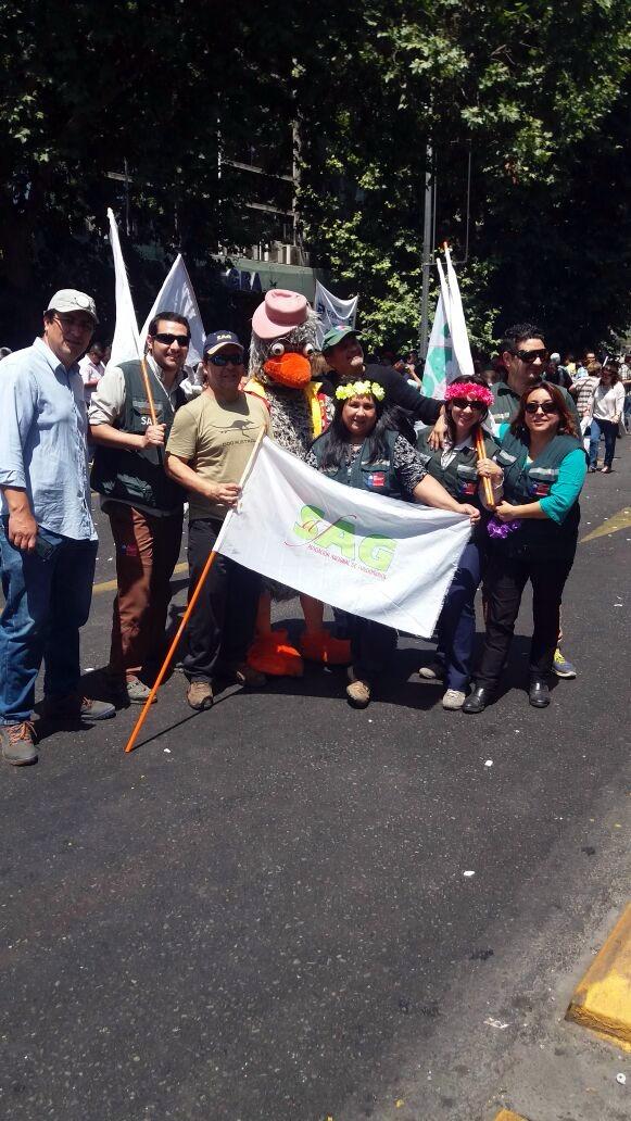 AFSAG en Marcha por un Reajuste Digno y Bonos Estables! -- 15 noviembre 2016
