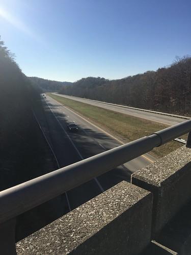 Crossing I-64