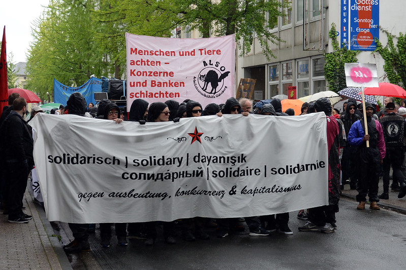 1. Mai Demonstration 2014 in Oldenburg