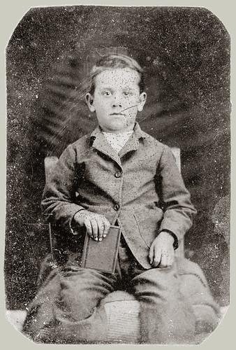 Tintype Young Man