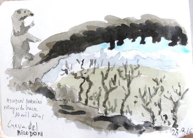 Cueva del Milodón. Patagonia Chile