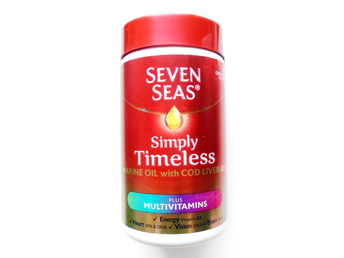 Seven Seas Simply Timeless Cod Liver Oil Plus Multivitamins review