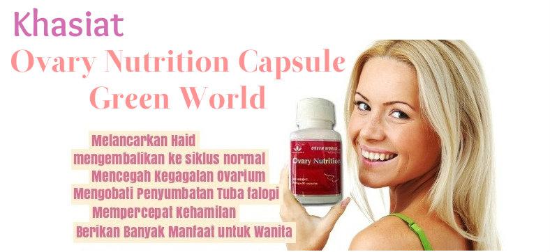 Ovary Nutrition Capsule Untuk Masalah Kewanitaan