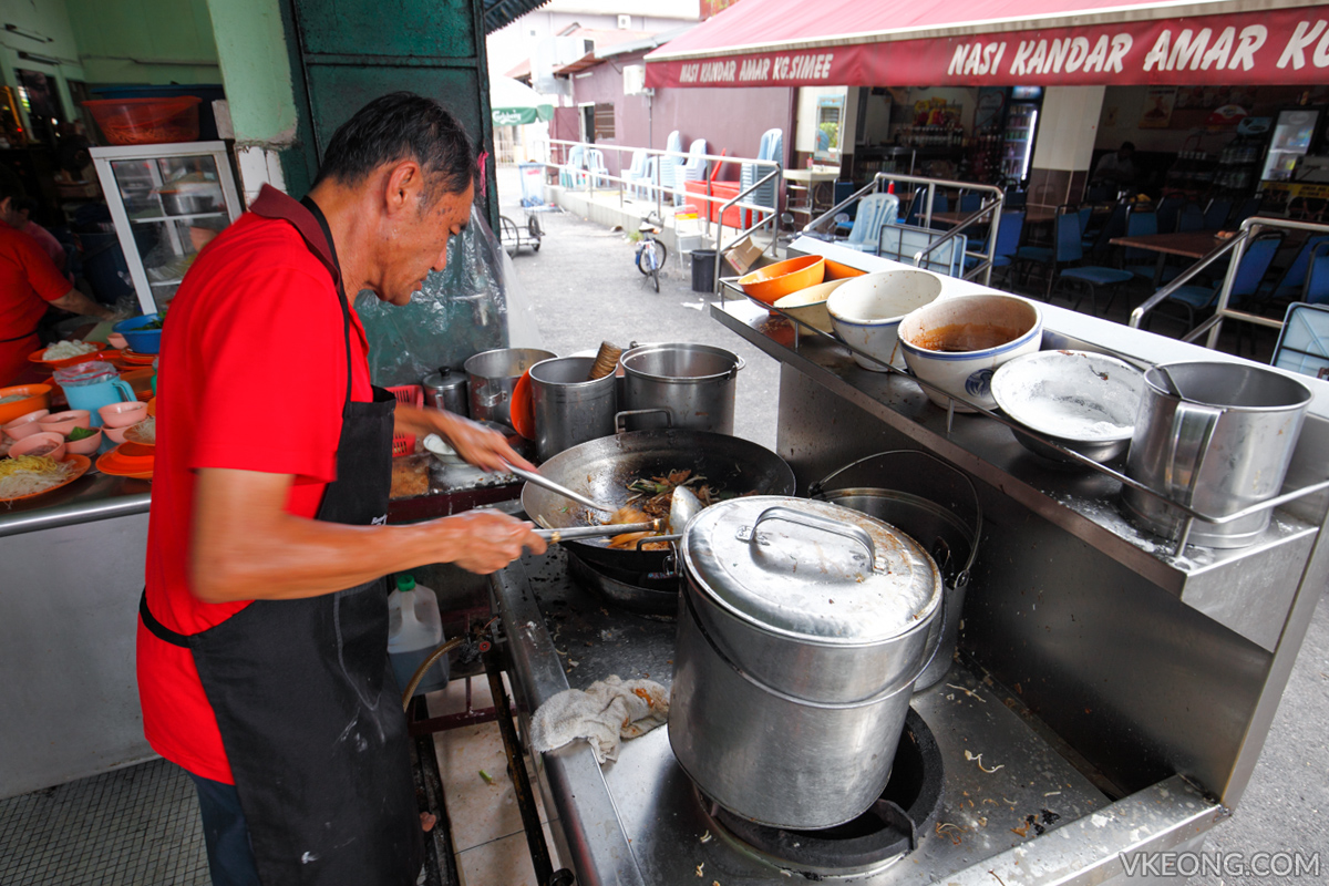 Fook Kee Fried Noodle Uncle Kampung Simee Ipoh