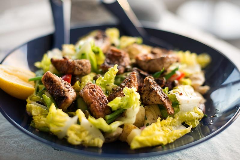 03 salad nicoise with mackerel