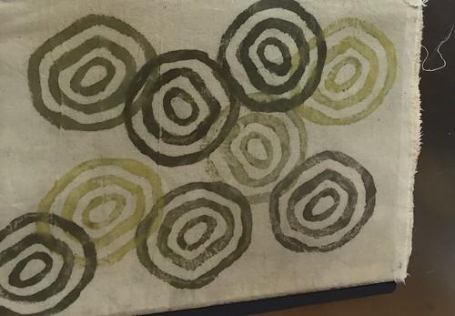 lezing Eco-verf en boekpresentatie bij Viltwerkplaats Odijk. Plant Dyes, natural dyes, ecoprinting