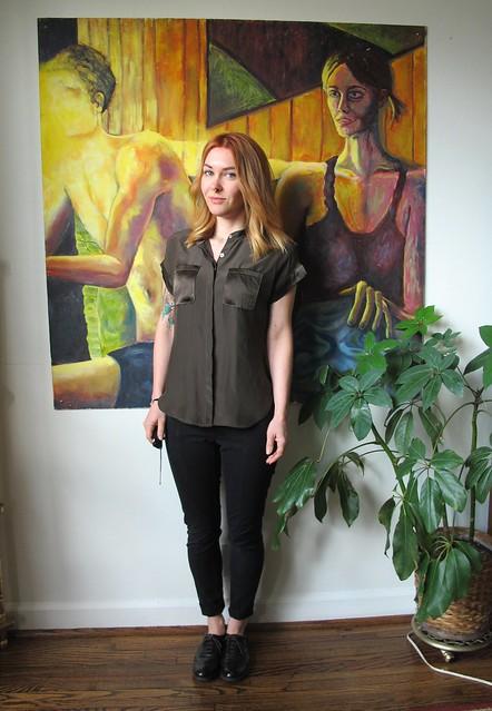 Mélilot shirt - front