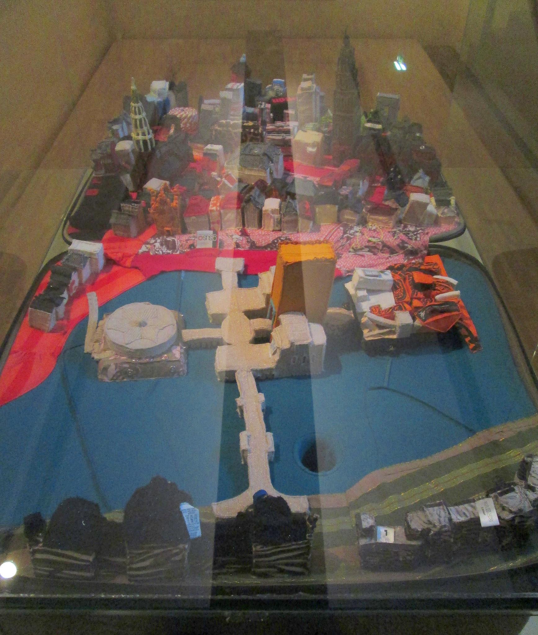Groningen Museum, Fabric Exhibit.