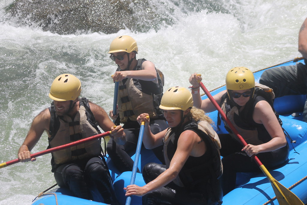 Rafting on the River Chili