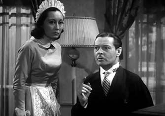 Lotus Long and Ivan Lebedeff in THE MYSTERY OF MR. WONG