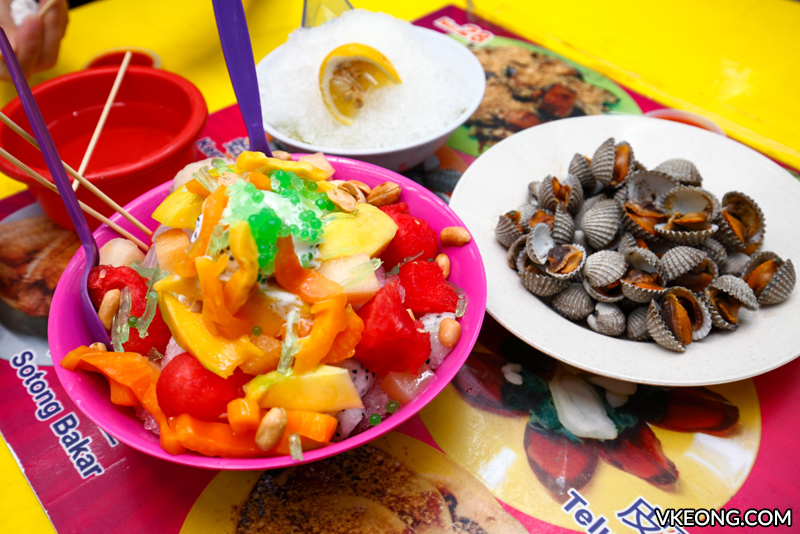 Mixed Fruits ABC Tong Sui Kai Ipoh - Ipoh Food