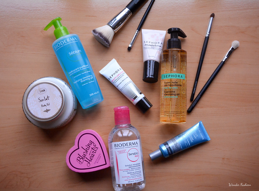 Beauty products I'm into recently