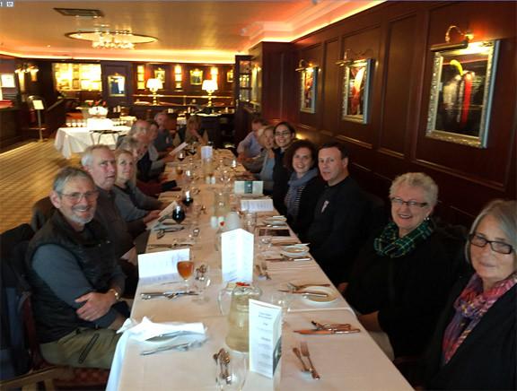 IAT Dinner at Harvey's Point Hotel, Lough Eske, Donegal