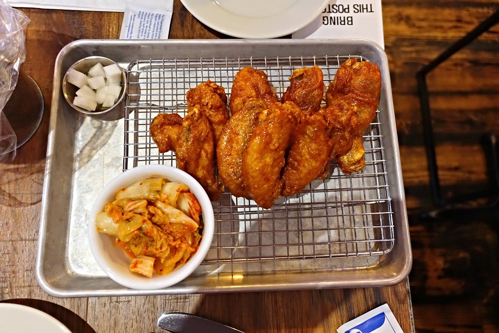 Korean Fried Chicken | Mahji | Grand St | Williamsburg | Brooklyn | NYC