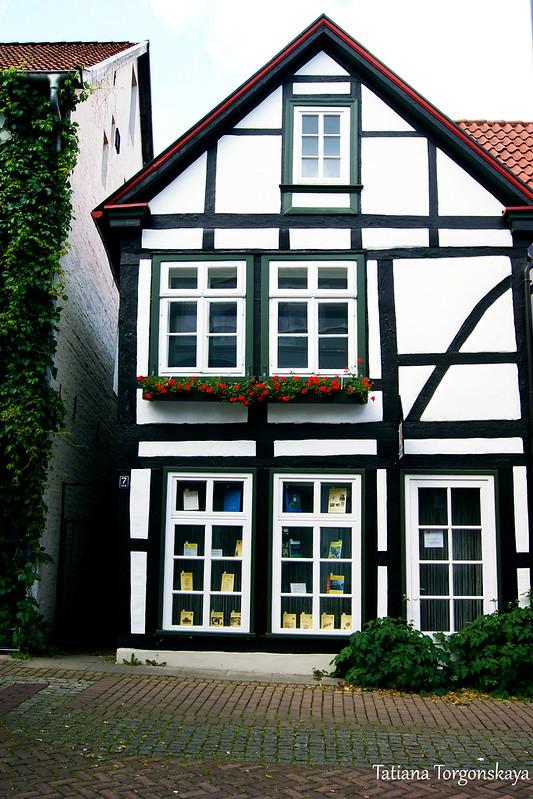 Небольшой фахверковый дом в Лемго