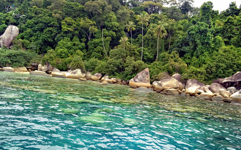 perhentiand island snorkeling