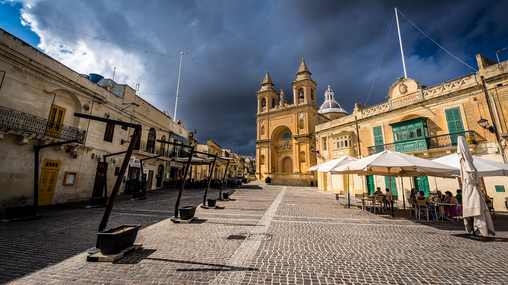 Parish Church - Marsaxlokk, Malta - Travel, landscape photography
