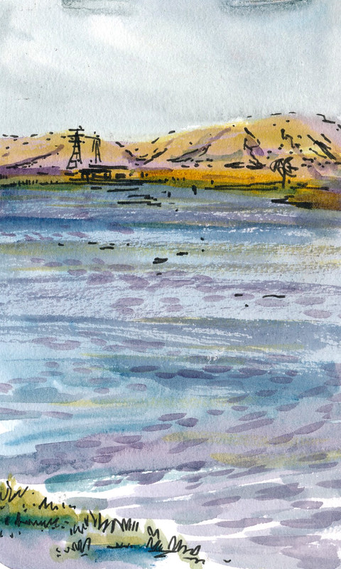 Sketchbook #100: Shoreline