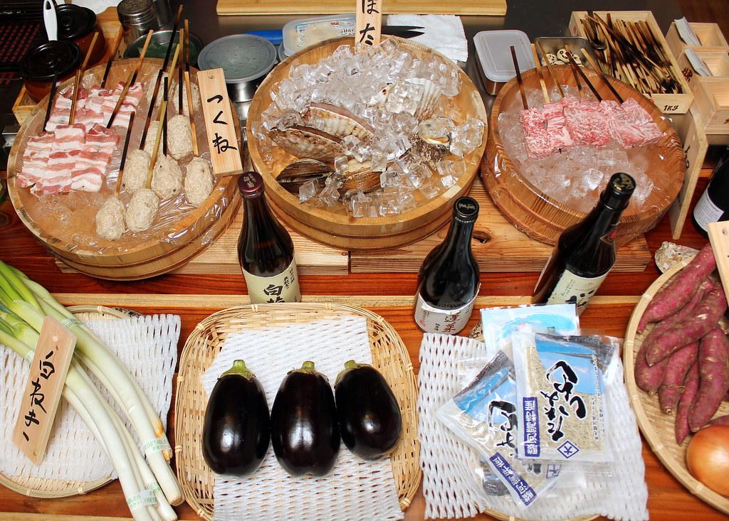 kurama-robatayaki-food
