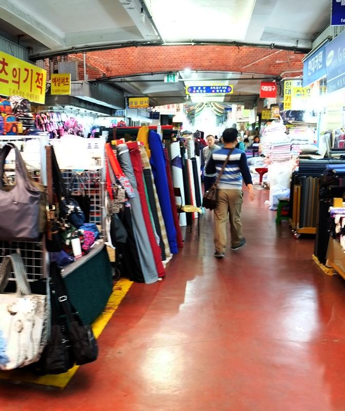Gwangjang Market, Seoul, Korea