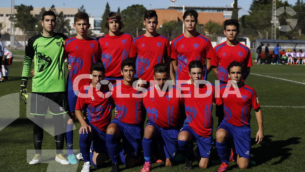 """Liga autonómica cadete. Valencia C.F. SAD """"A""""- C.F. Torre Levante """"A"""""""