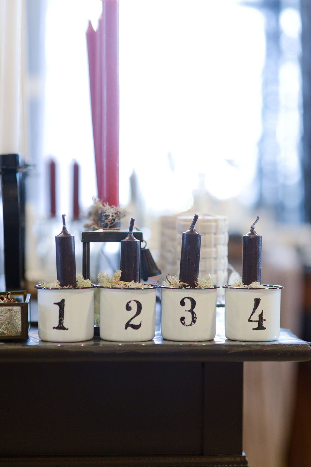 Cute advent candles