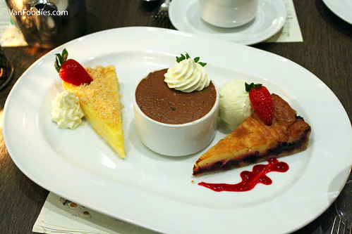 Lemon Tarte | Chocolate Mousse Cake | Clafoutis