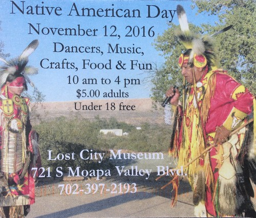 Native American Day at the @LostCityMuseum (Nov 12, 2016)
