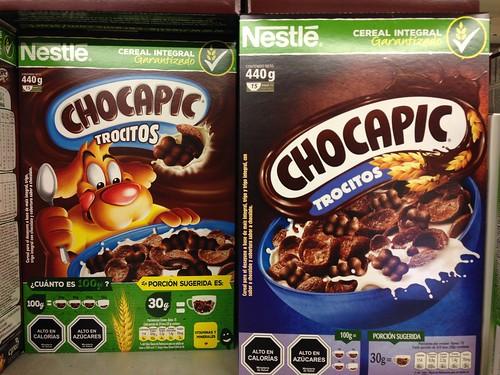 Chocapic sin el Perro, ante Ley de Etiquetado de Alimentos