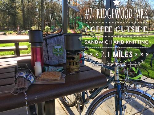 Coffeeneuring #7, Ridgewood Park
