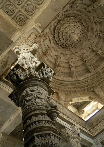 The Jain Temple at Ranakpur in India's province of Rajasthan