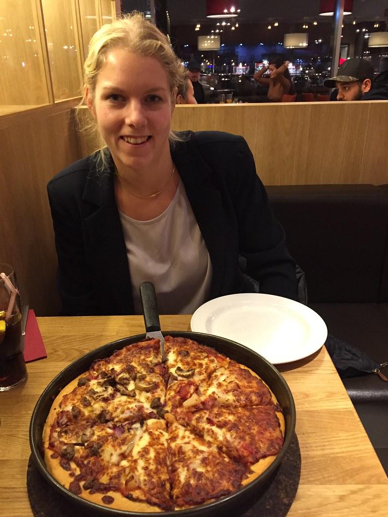 Pizza-dieten på Pizza Hut