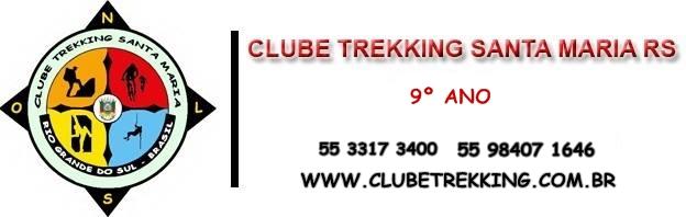 Cabeçalho para e-mail do Clube Trekking Santa Maria RS