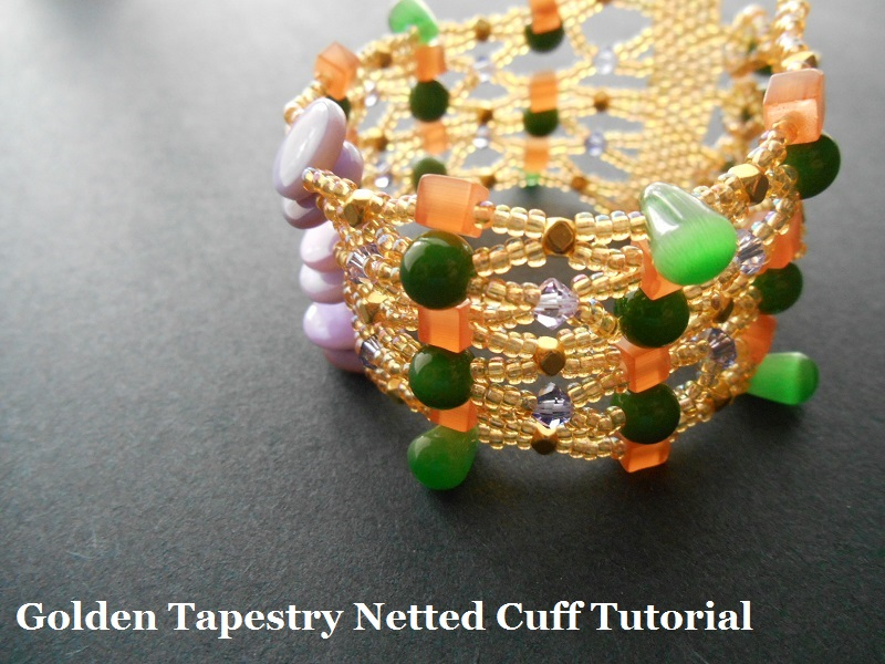 Golden Tapestry Cuff Bracelet Project
