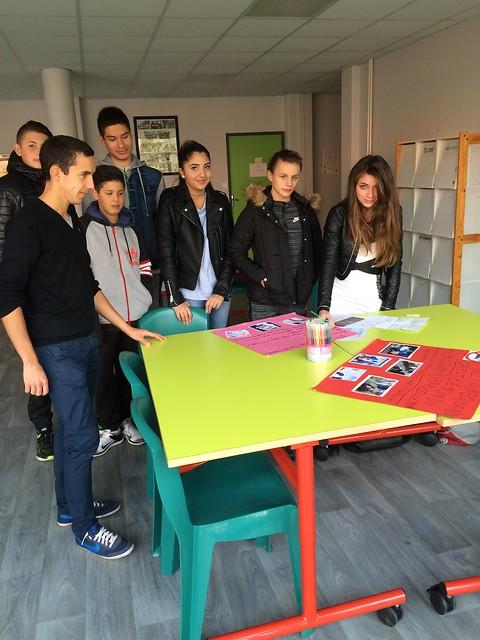 L'EREA de Sorbiers se mobilise contre le harcèlement scolaire