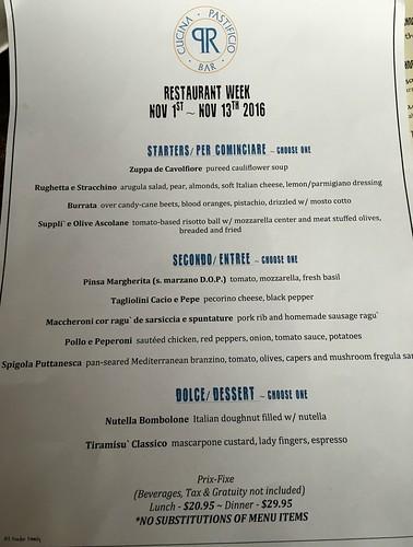 Pax Romana HVRW menu