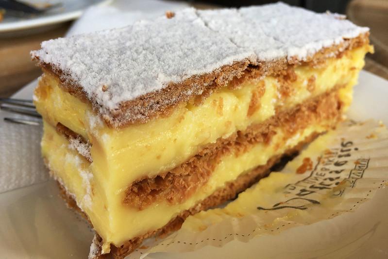 Vanilla slice, Oaks Avenue Patisserie