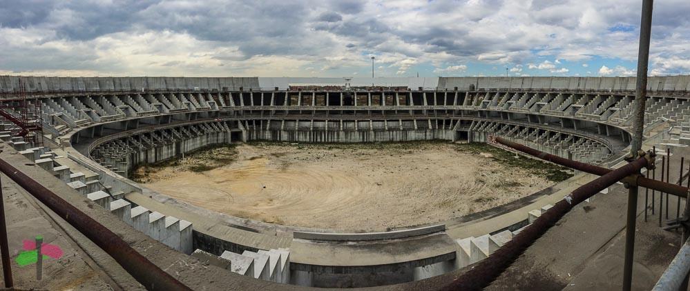 Forgotten Sport Center in Rome