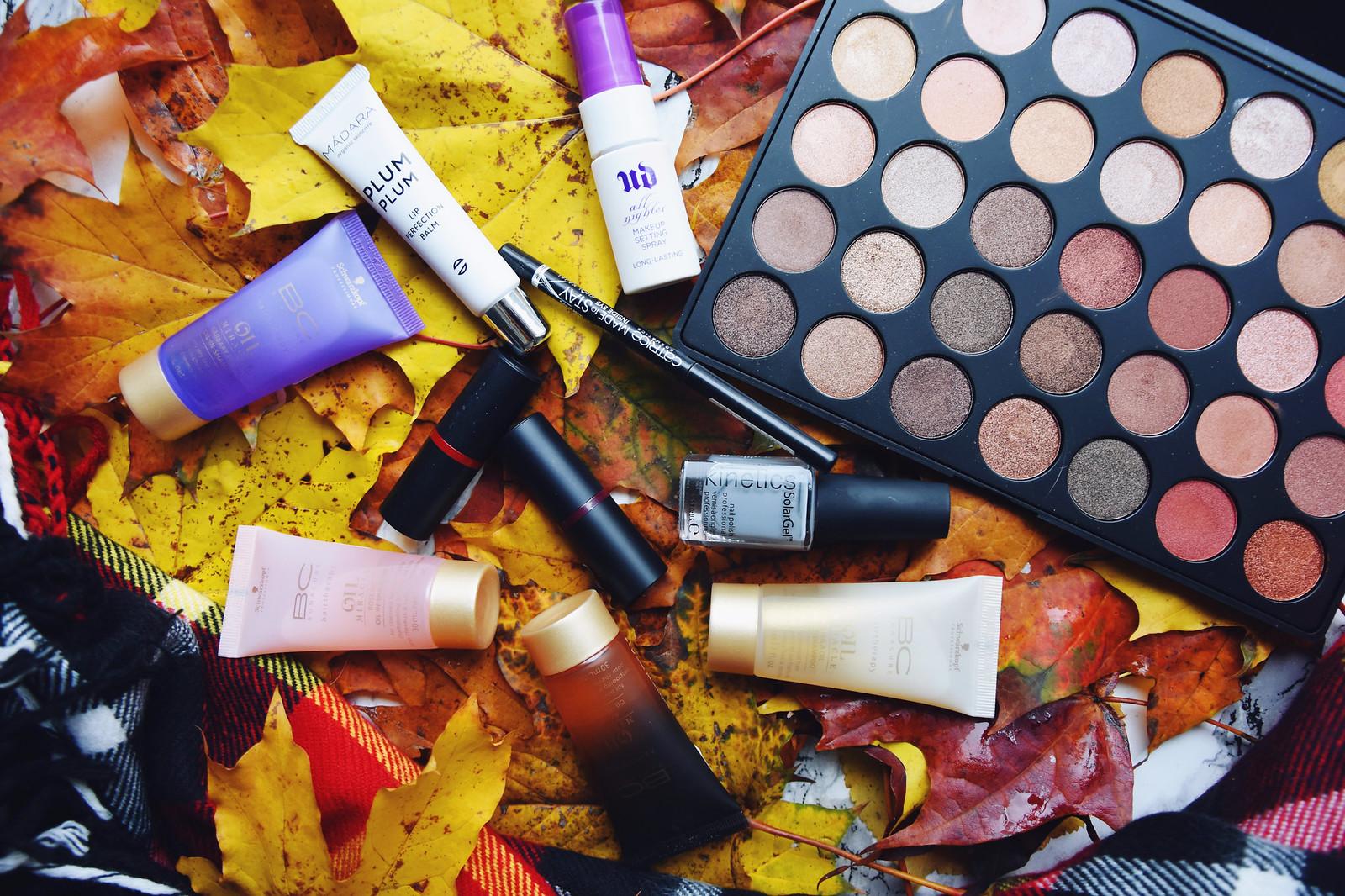 September october beauty favorites