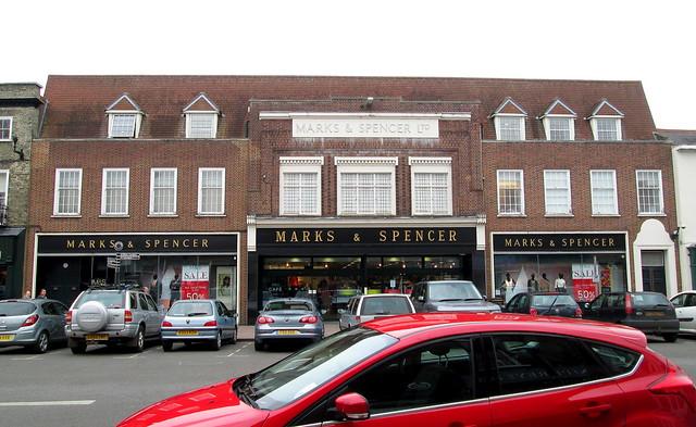 Bury St Edmunds, Marks and Spencer