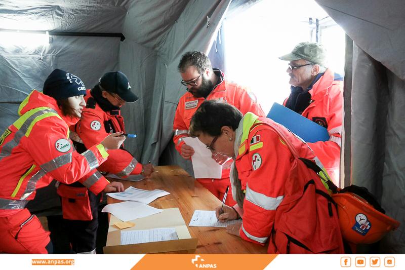 Norcia, continua l'assistenza alle comunità colpite dal terremoto