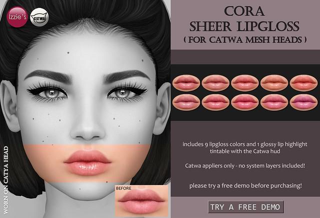 Cora Sheer Lipgloss (at Uber)