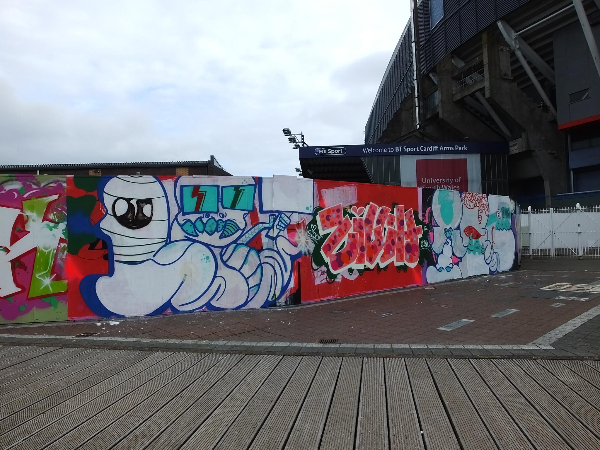 Millennium Walkway, Cardiff