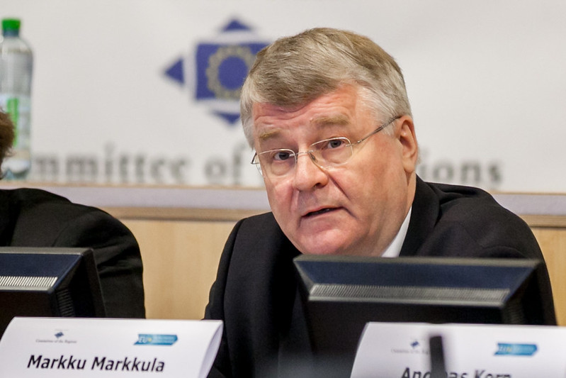 Markku Markkula, President of the CoR