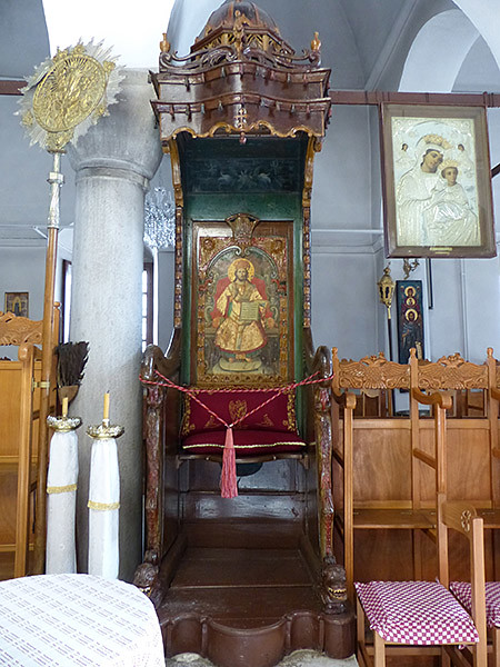 icône église apiranthos
