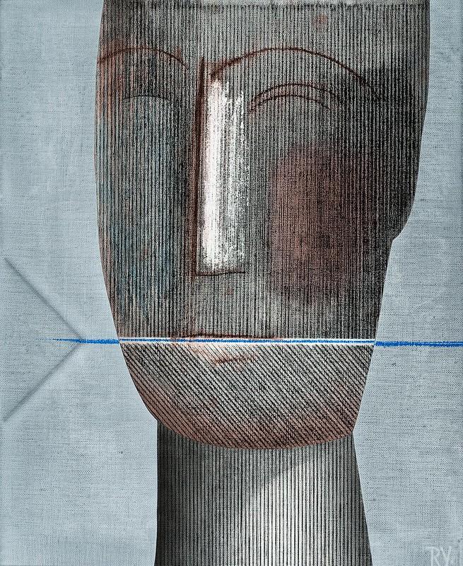 « 2015-2016 (Pasteles sobre Tela) » de Ricardo Yrarrázaval. D21 Arteproyectos.