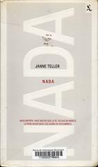 Janne Teller, Nada