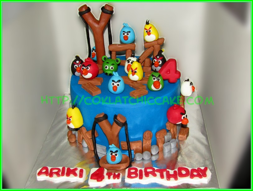 Cake Angrybird