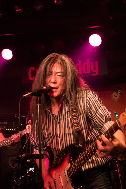 Rory Gallagher Tribute Festival - O.E. Gallagher live at Crawdaddy Club, Tokyo, 22 Oct 2016 -00219