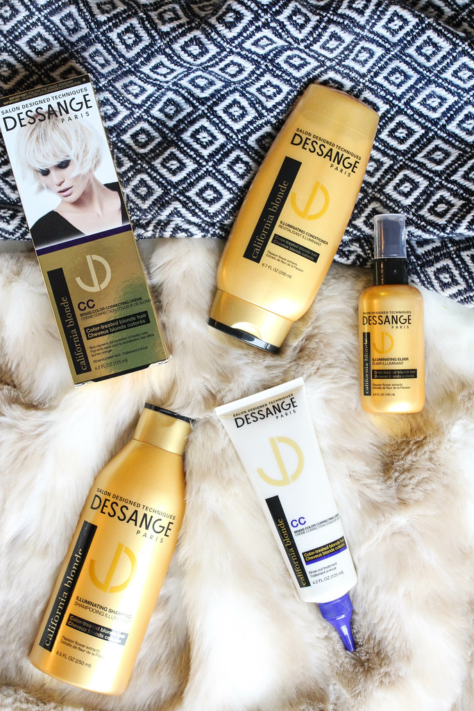 Dessange Paris California Blonde Hair Collection Beauty Review